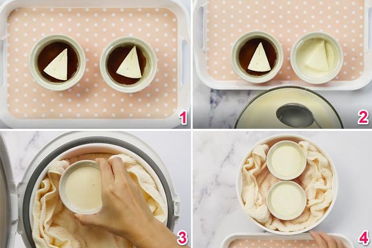 Cách Làm Bánh Plan Phô Mai Bằng Nồi Cơm Điện Tại Nhà