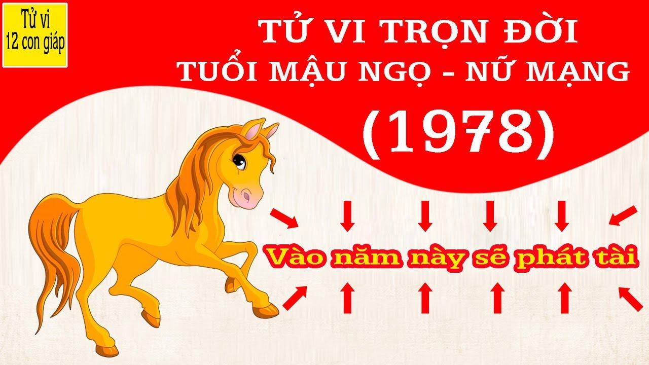 SINH NĂM 1978 LÀ MỆNH GÌ? TỬ VI TUỔI NĂM 1978