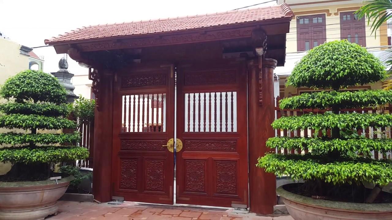 Bí Quyết Lựa Chọn Mẫu Cửa Cổng Bằng Gỗ Hút Tài Lộc Vào Nhà