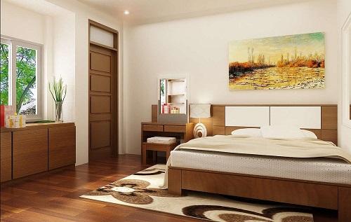 12 Cách Trang Trí Phòng Ngủ Đẹp Hợp Phong Thủy Với Cửa Gỗ Công Nghiệp