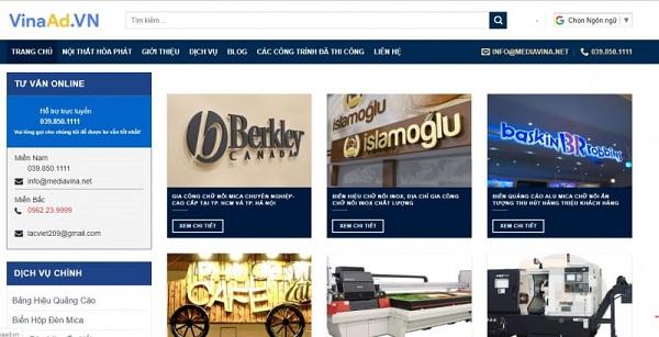 Top 10 công ty thi công & thiết kế quảng cáo uy tín TP Hồ Chí Minh
