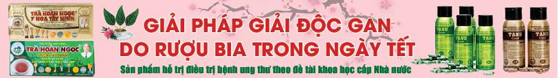 Hỗ trợ thải độc Gan với dòng sản phẩm từ Trà Hoàn Ngọc