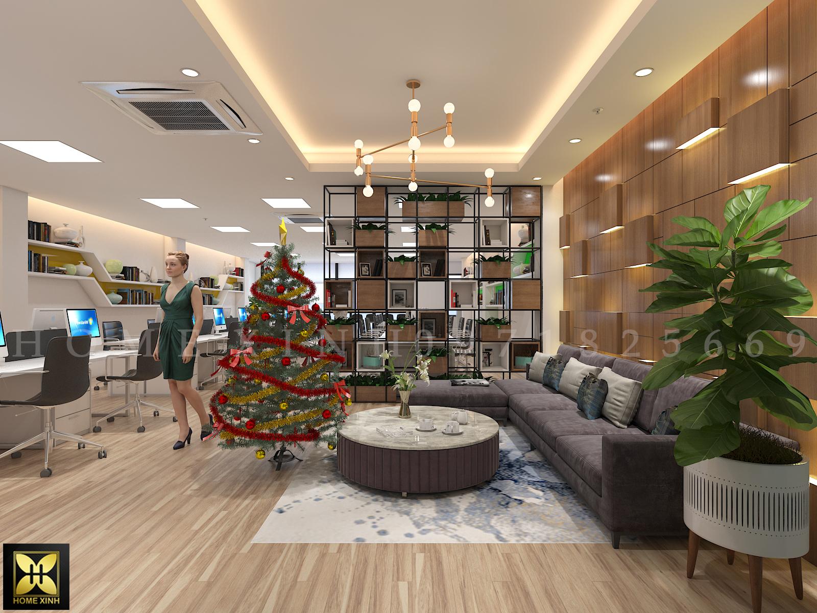 Thiết kế văn phòng đại diện chuyên nghiệp – HomeXinh