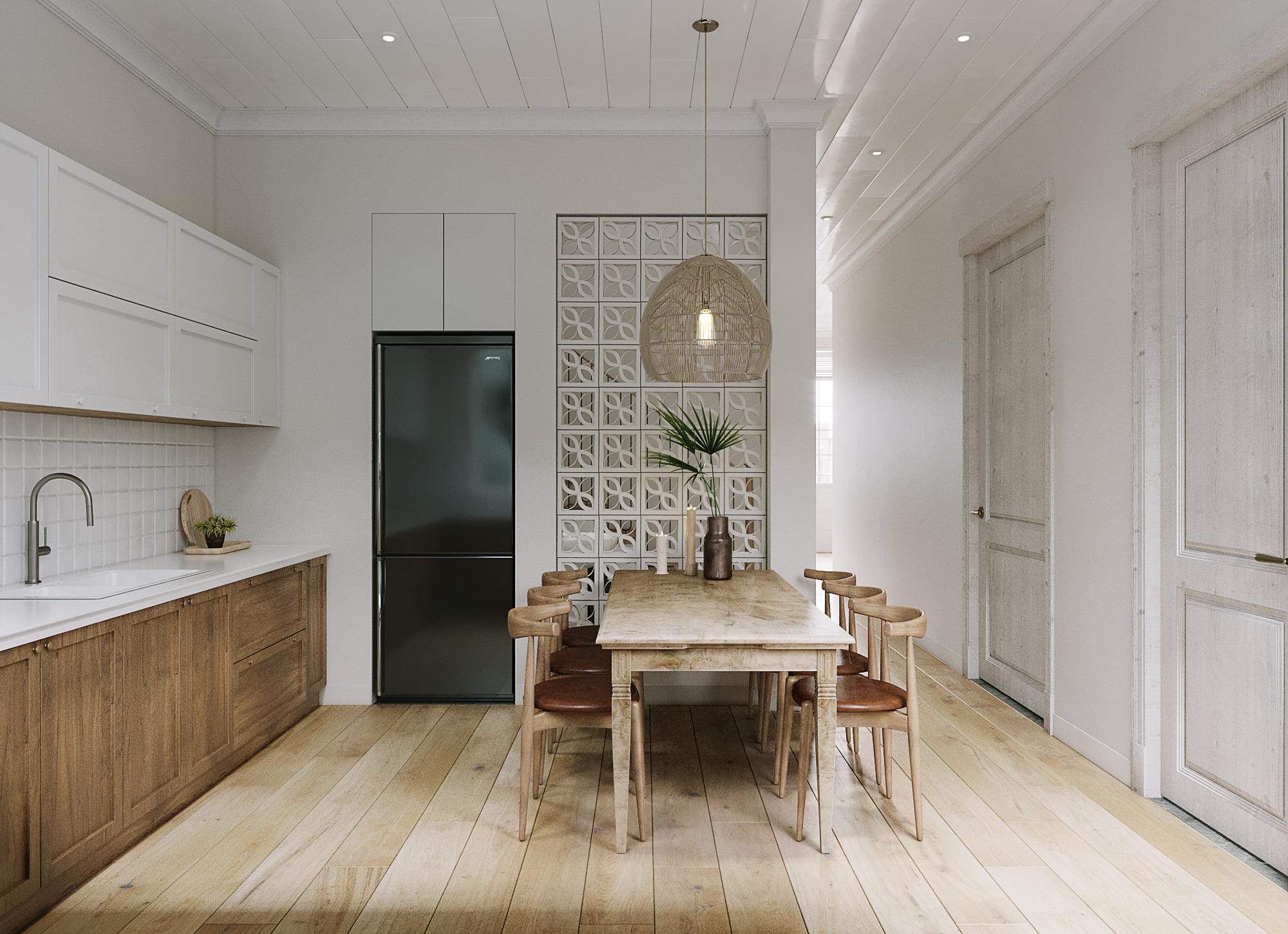Nét hoài cổ giản dị với thiết kế căn hộ phong cách vintage