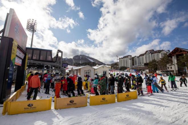 Người Việt sang Hàn Quốc trượt tuyết dưới cái lạnh -20 độ C - 1