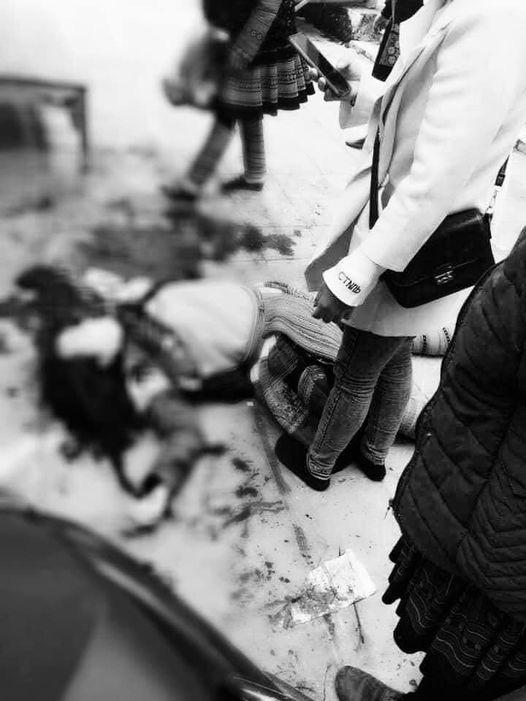 Bi kịch phía sau vụ chồng vung dao chém vợ giữa chợ rồi uống thuốc sâu tự sát - 1