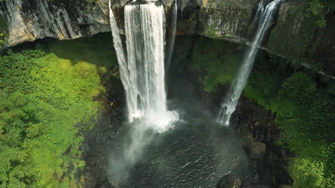 Khám phá vẻ đẹp huyền ảo của thác K50 ở Kbang, Gia Lai - 1