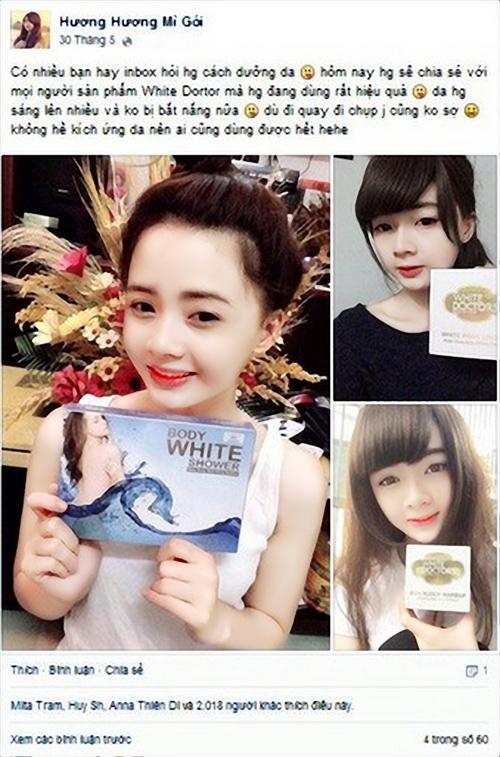 Hàng loạt phản hồi và cảnh báo từ Facebook sau khi sử dụng mỹ phẩm White Doctors