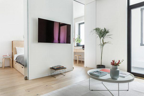 Thiết kế nội thất chung cư 45m2 hiện đại tại Cầu Giấy
