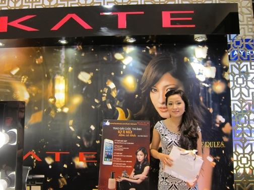 """Mỹ phẩm Kate trao giải cuộc thi """"Đẹp tự nhiên, Đậm cá tính"""""""