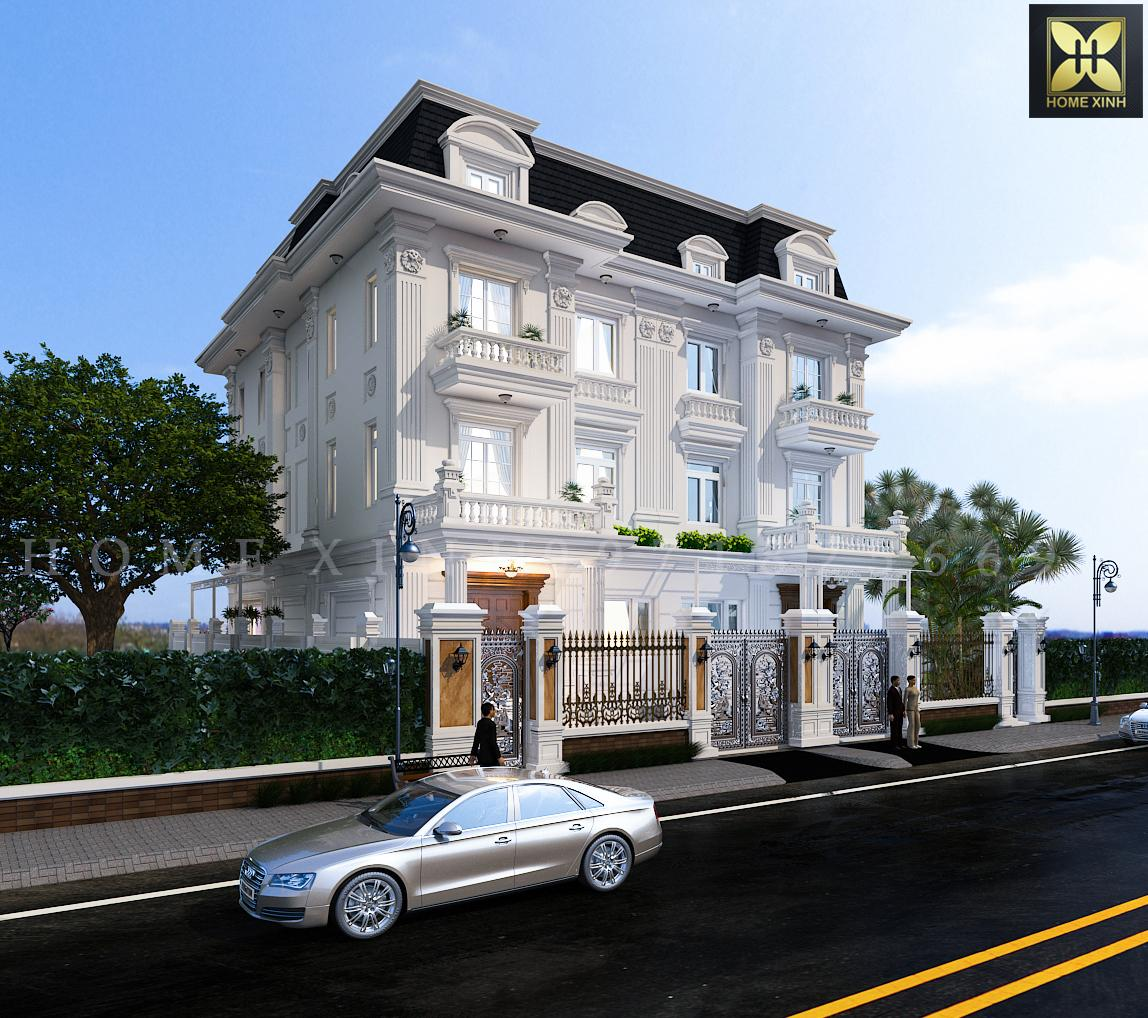 Tổng hợp các mẫu thiết kế biệt thự song lập đẹp nhất