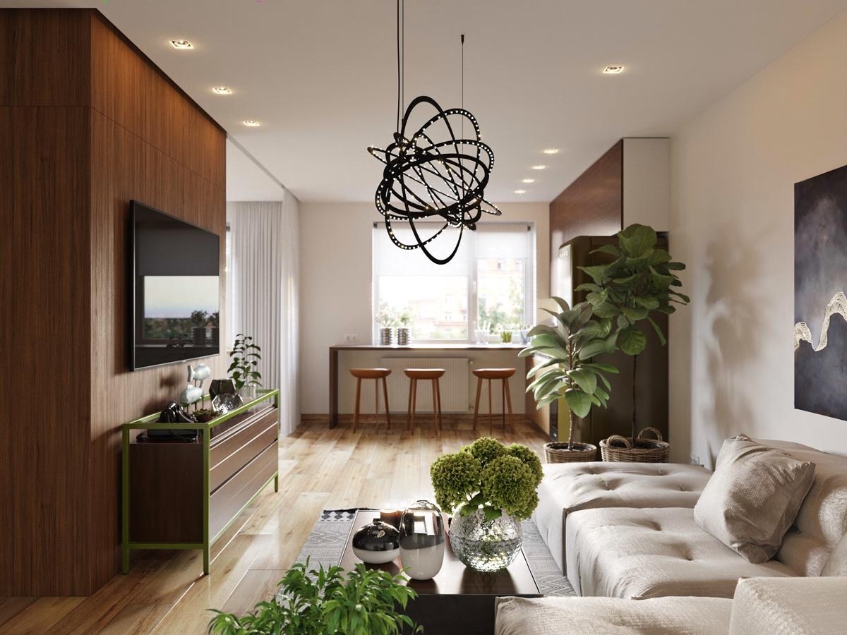 Những mẫu thiết kế nội thất chung cư đẳng cấp cao