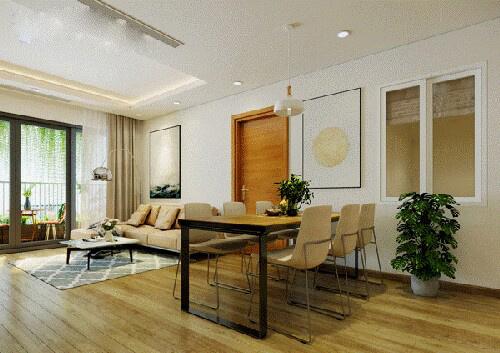 Ấn tượng với mẫu thiết kế nhà chung cư đẹp sang trọng, hiện đại