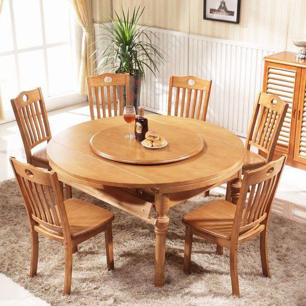 Những mẫu bàn ghế gỗ cho những không gian đơn giản