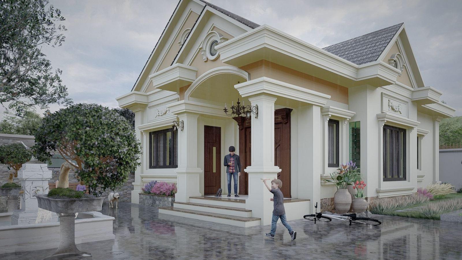 Tổng hợp các mẫu thiết kế nhà mái thái đẹp nhất – HomeXinh
