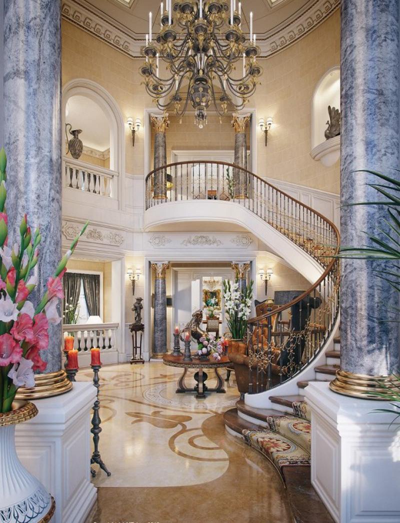 Biệt thự sang trọng bậc nhất ở Qatar