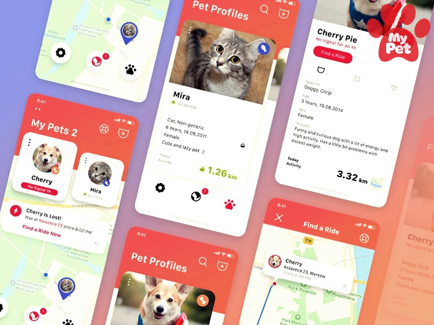 Những tính năng giá trị nhất trên một ứng dụng thú cưng