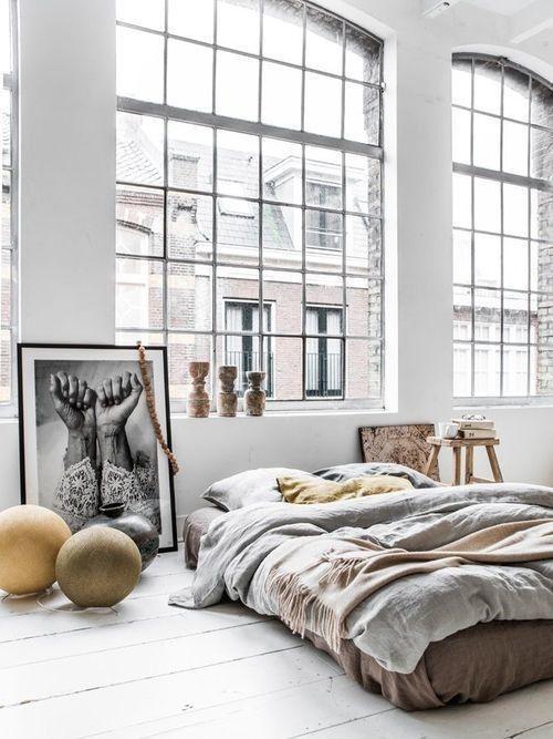 Trang trí phòng ngủ không giường – xu hướng mới cho phòng ngủ hiện đại