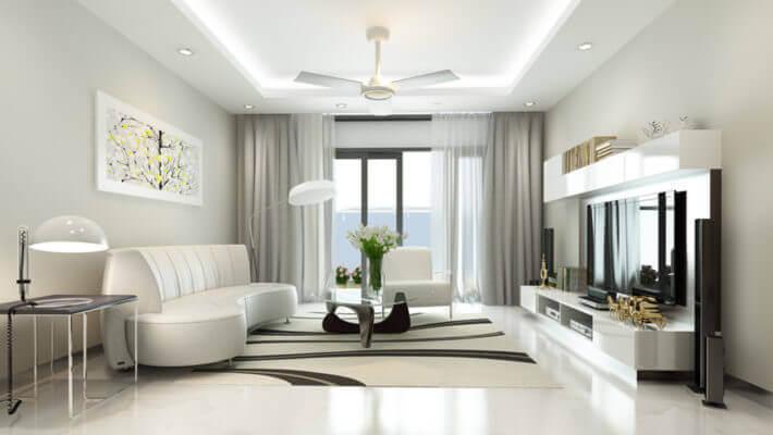 Những điều cần biết khi thiết kế nội thất phòng khách hiện đại