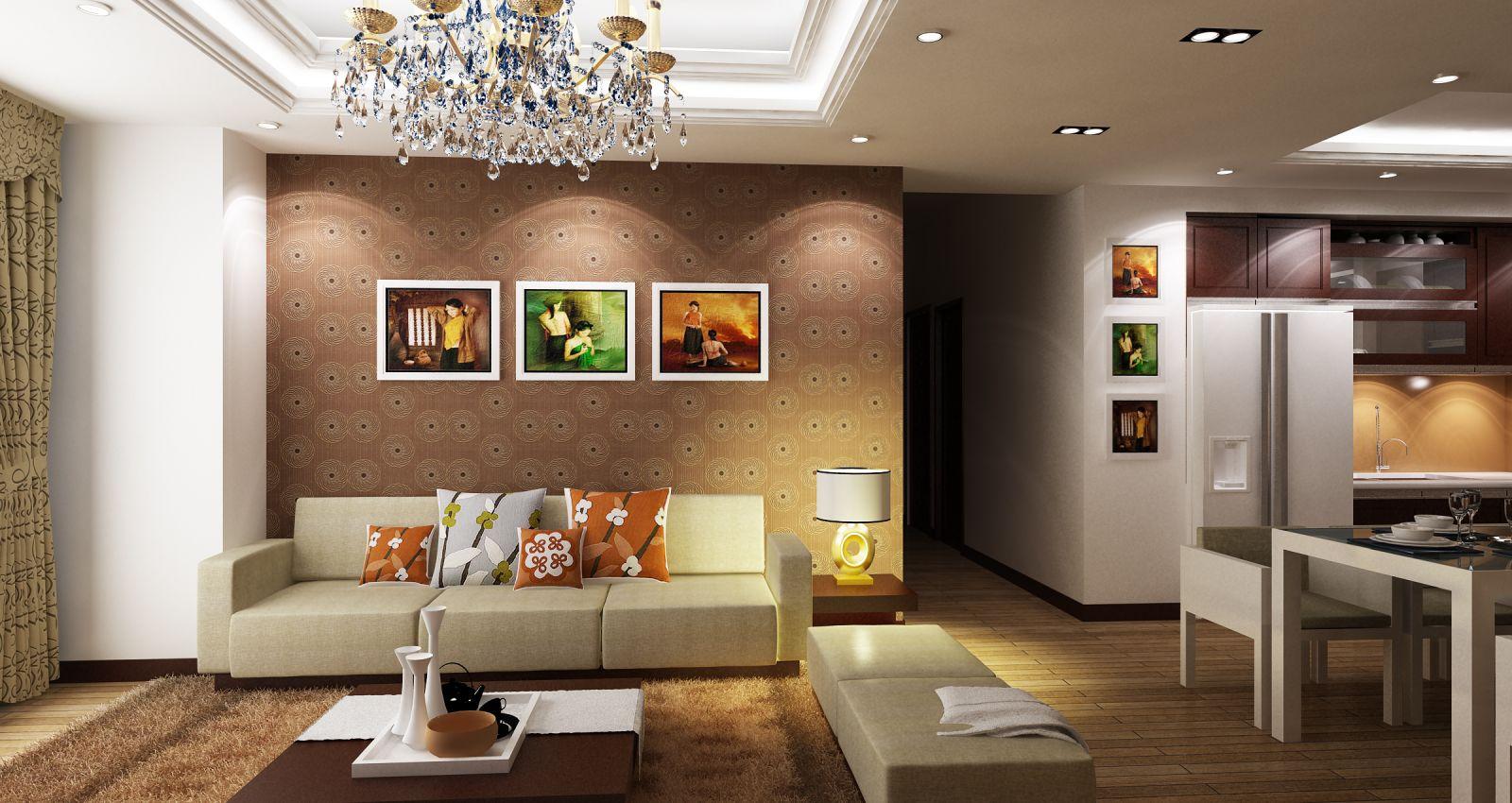 Các xu hướng thiết kế nội thất chung cư 2017 bạn nên biết