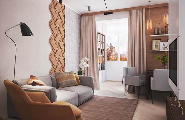 Ngạc nhiên với thiết kế nội thất chung cư mini đẹp
