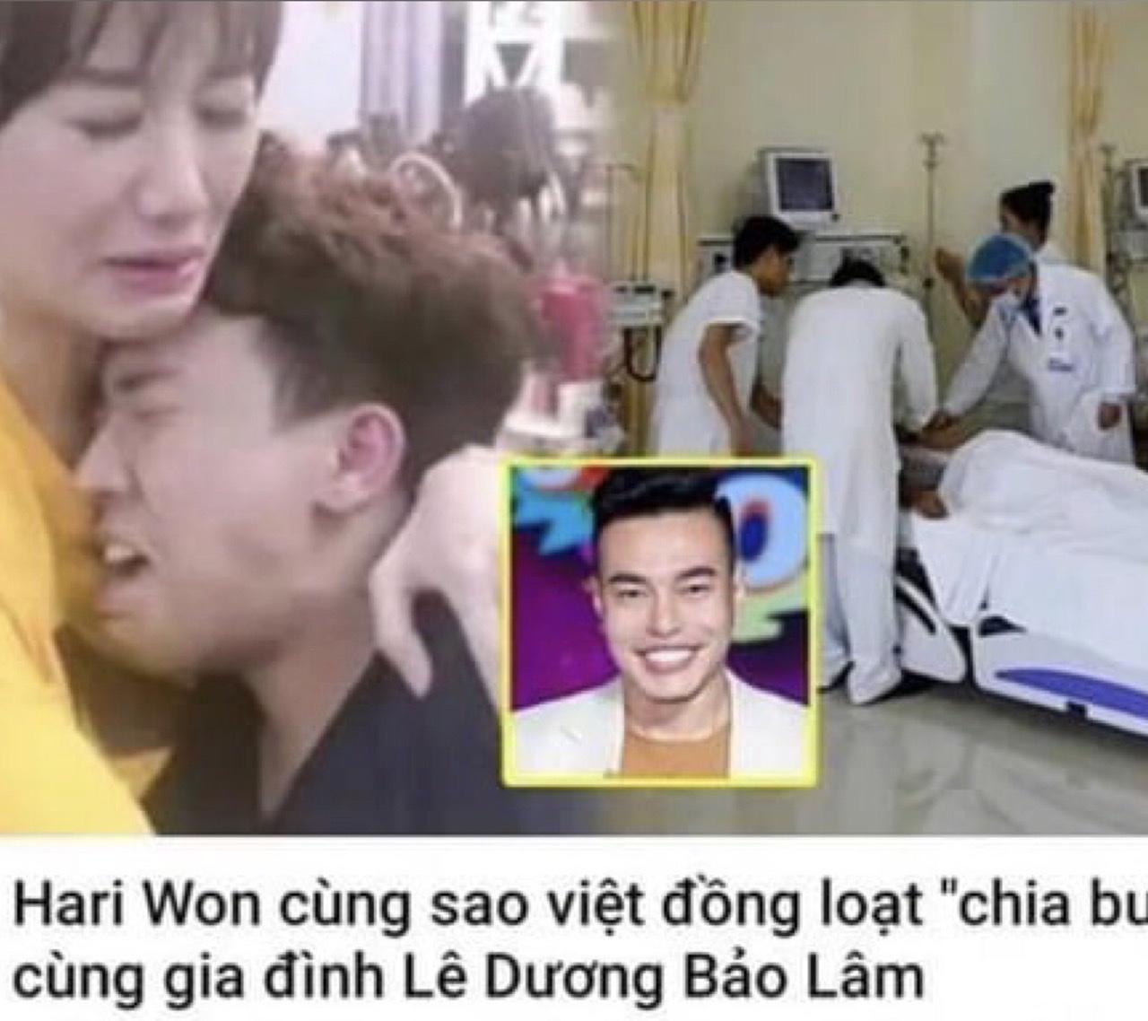 """""""Thánh livestream"""" ngã ngửa khi biết tin Hari Won cùng loạt sao Việt khóc nghẹn trong đám tang của... mình - 1"""