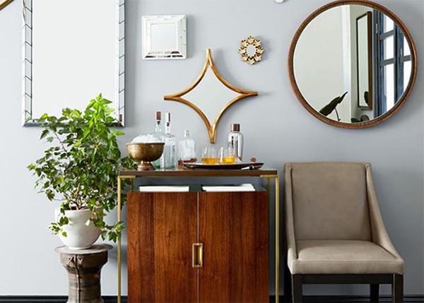 Bật mí cách dùng gương trang trí cho các thiết kế nội thất đẹp