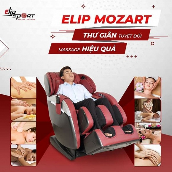 Ghế massage toàn thân hiện đại giúp chăm sóc sức khỏe gia đình