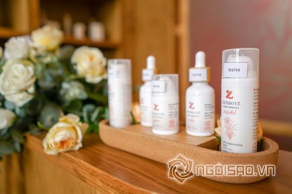 Người mẫu Helly Tống tham dự lễ ra mắt thương hiệu mỹ phẩm hữu cơ Zenboté
