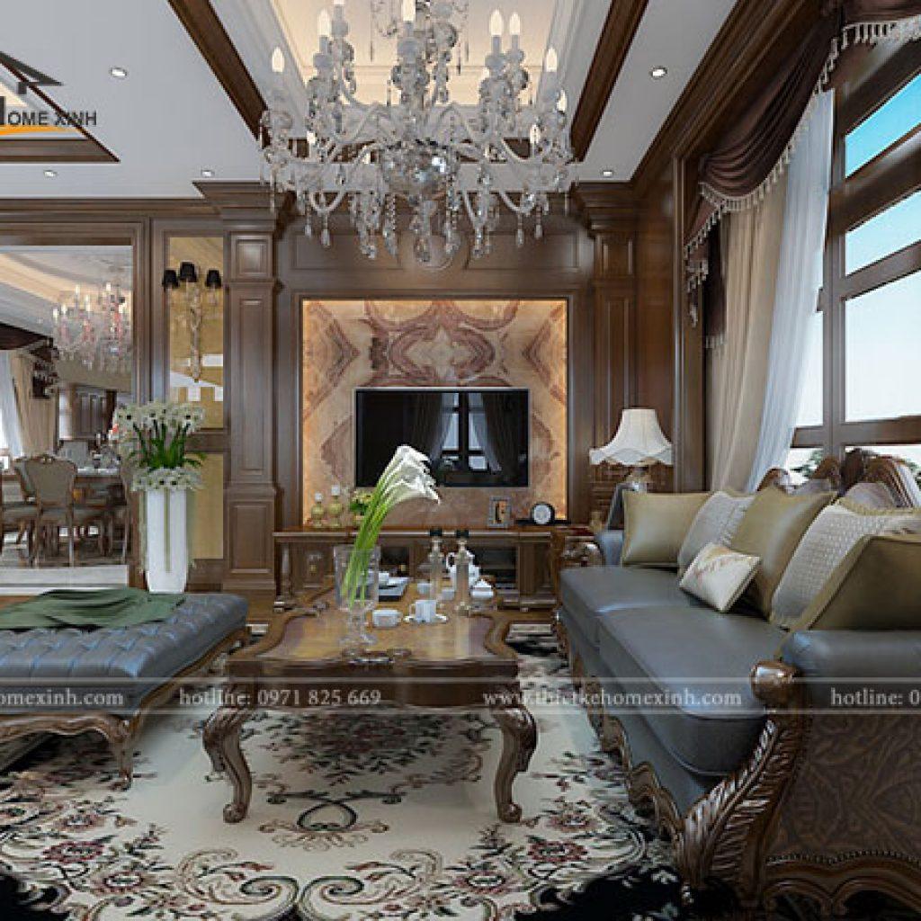 Một số kiểu dáng đồ dùng nội thất phòng khách được ưa chuộng