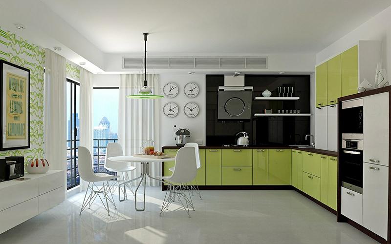 5 tone màu giúp thiết kế phòng bếp của bạn tràn đầy sức sống