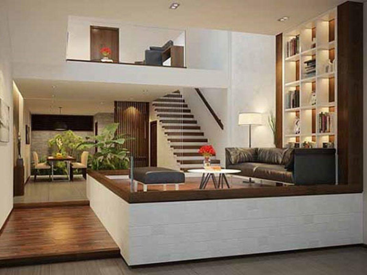 Thiết kế nhà lệch tầng – Những điều được và mất