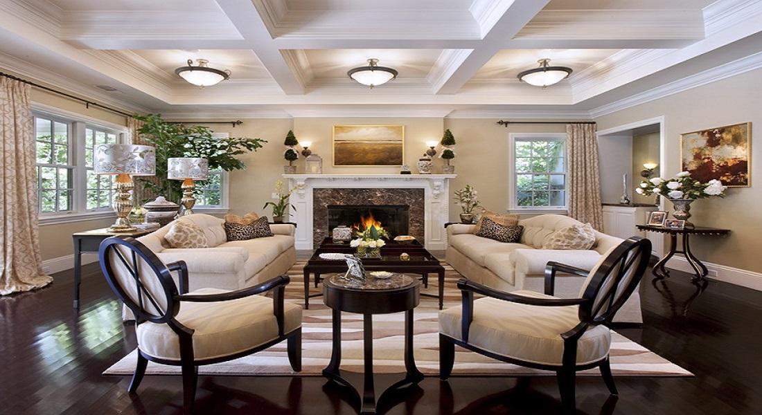 Những lưu ý khi thiết kế nội thất phòng khách tân cổ điển