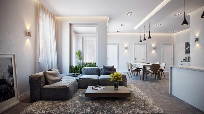 Mãn nhãn với 5 mẫu thiết kế nội thất chung cư cao cấp