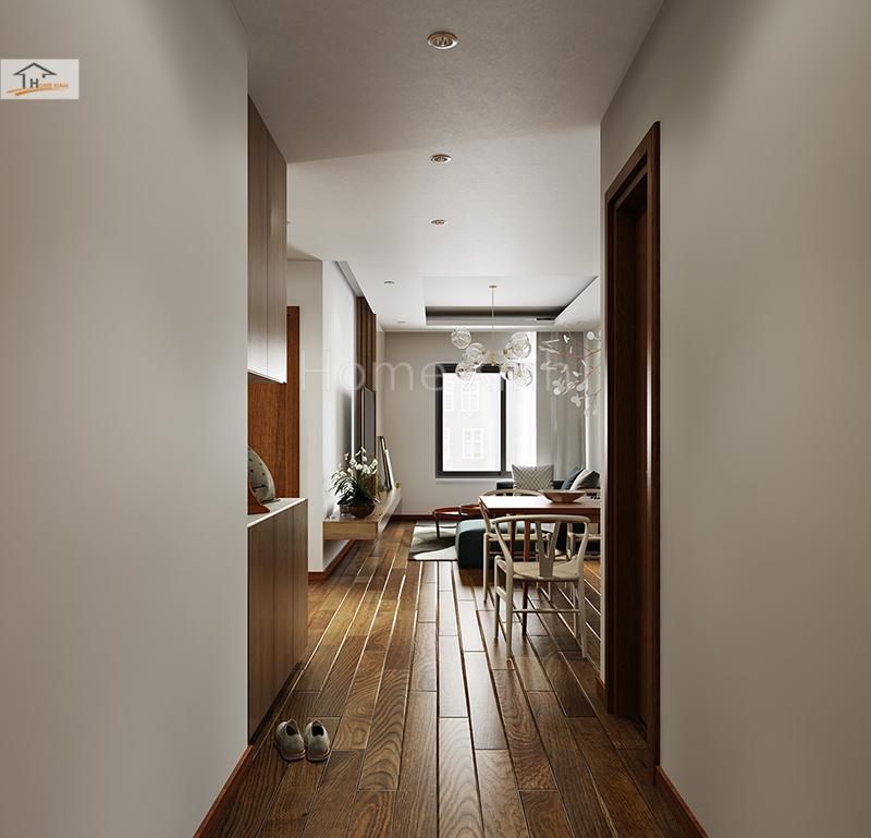 Nội thất gọn gàng cho chung cư diện tích nhỏ
