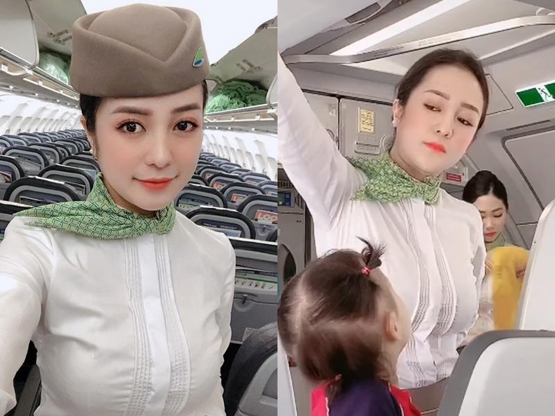 """Mỹ nữ làng tiếp viên hàng không tạm nghỉ bay kết hôn, tuyên bố """"đi đẻ cũng phải xinh"""" - 1"""