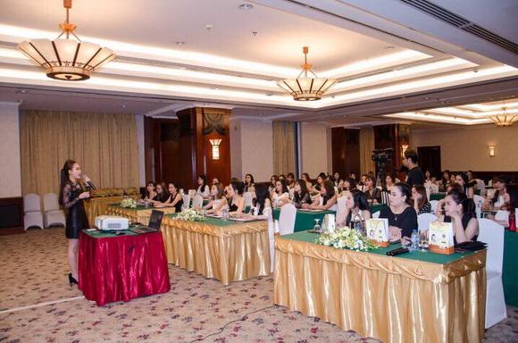 Mỹ phẩm Be Nature tổ chức hội nghị đầu năm thành công rực rỡ