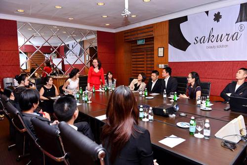 Mỹ phẩm Sakura mở rộng chuỗi hệ thống phân phối toàn quốc