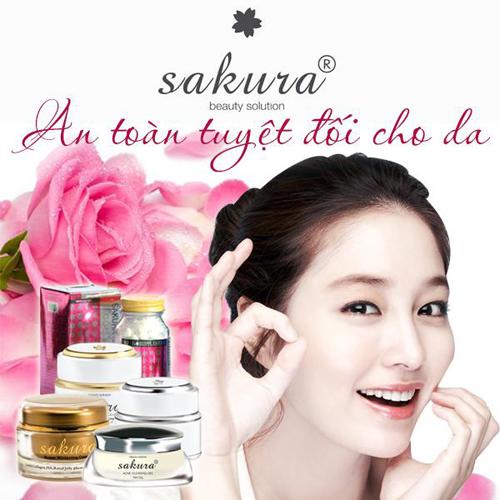 """""""Lật tẩy"""" công dụng trắng da, trị nám của mỹ phẩm Sakura"""