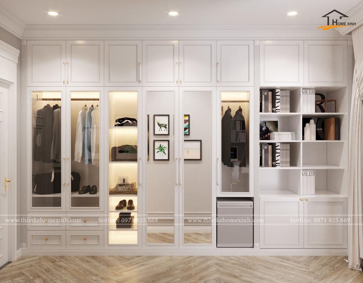 Phòng thay đồ trong nhà – Không gian sống nên có giành cho người phụ nữ hiện đại
