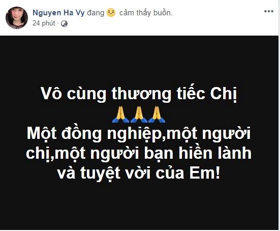 Hồ Ngọc Hà cùng loạt sao Việt xót xa trước tin cựu người mẫu Như Hương qua đời ở tuổi 37 vì ung thư
