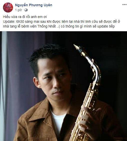 Nhạc sĩ Xuân Hiếu qua đời sau thời gian dài điều trị ung thư