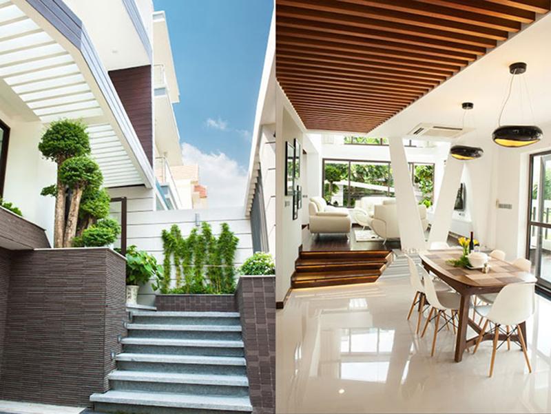 Thiết kế nội thất biệt thự theo xu hướng hiện đại