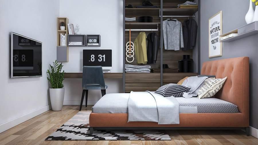 Mẫu thiết kế tủ quần áo tiết kiệm không gian tối đa cho ngôi nhà