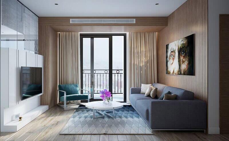 Nội thất phòng khách chung cư hiện đại – Tăng cầu đột biến