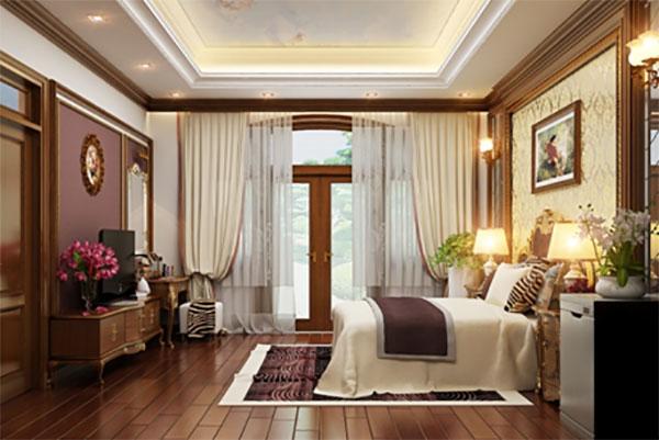 5 mẫu nội thất phòng ngủ tân cổ điển ấn tượng