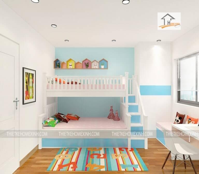 Nội thất phòng ngủ trẻ em hiện đại khiến bé thích mê