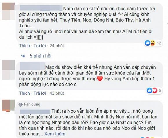 Đâu chỉ hát hay mà Noo Phước Thịnh còn sống cực 'tình' khi đến thăm fan bị ung thư giai đoạn cuối