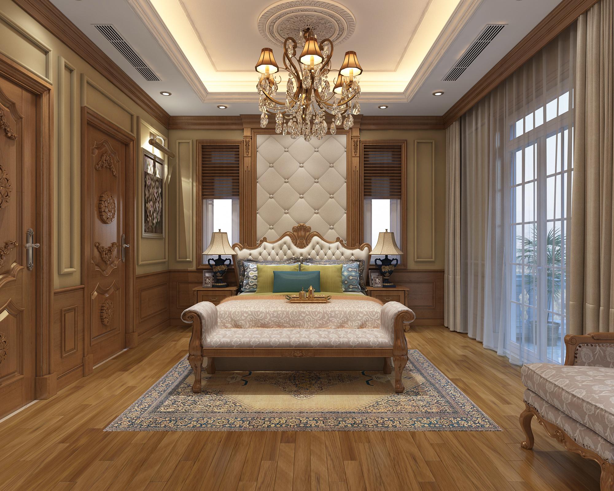 Thiết kế nội thất căn biệt thự song lập khu đô thị Dương Nội – Anh Biên