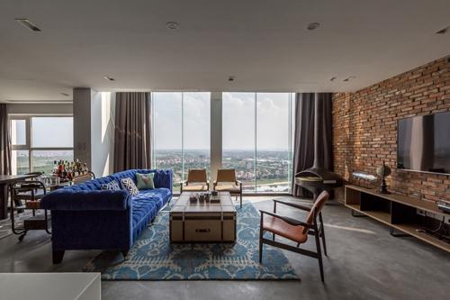 Còn độc thân, chàng doanh nhân Hà Nội vẫn chi tiền tỷ sửa penthouse xa xỉ